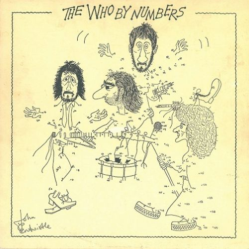 THE WHO The Who By Numbers Vinyl Record LP Dutch Polydor 1975